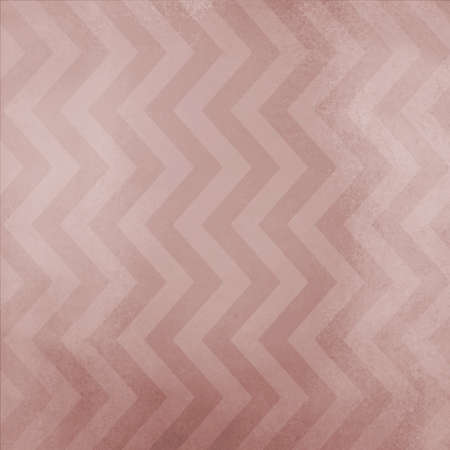 dull: vintage chevron striped background pattern with dull pink brown and mauve stained zig zag lines with vintage grunge texture Stock Photo