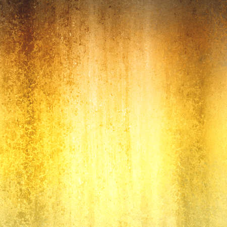 worn: shiny gold and brown background color with rough paint texture