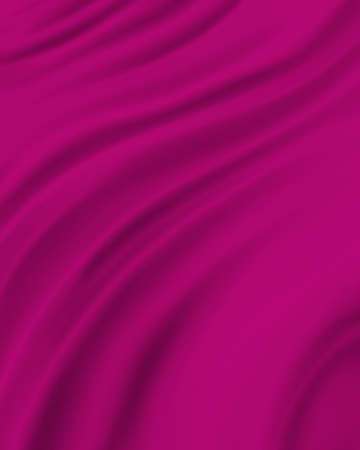 pink material background, elegant luxury material with draped folds and wrinkled creases of smooth wavy silk fabric Stok Fotoğraf