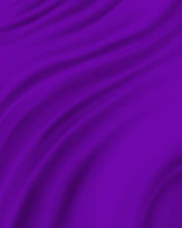 wrinkled: purple material background, elegant luxury material with draped folds and wrinkled creases of smooth wavy silk fabric Stock Photo