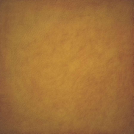 aged: faded golden brown background with painted wall or canvas texture design Stock Photo
