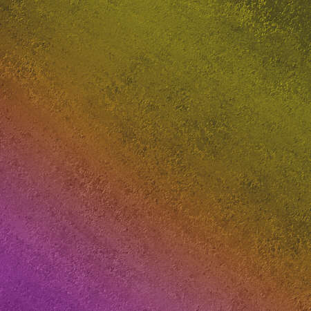 worn: rough plaster wall textured background design with slanted gradient paint colors of green yellow orange pink and purple