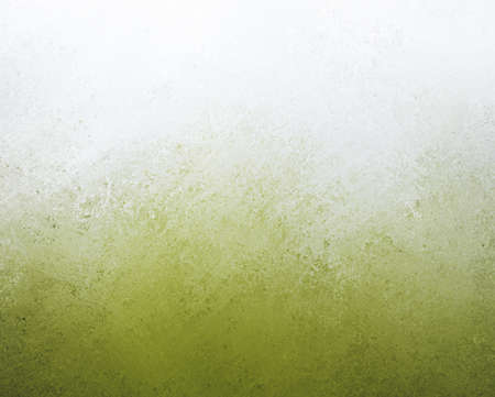 mess: white and green background design with gradient grunge borders in cloudy green painted texture