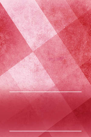 abstract red background layout with triangle and square shapes in angled block pattern Reklamní fotografie