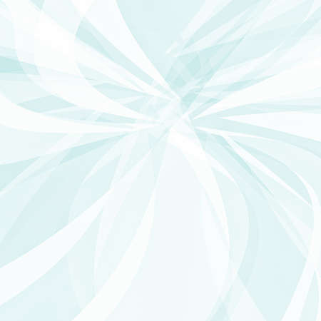 shaped: abstract blue and white background with curved triangle shards in artsy modern fan shaped  pattern