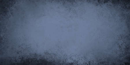 shiny black: blue background with vintage grunge or sponged paint texture with soft white center and stained black border design