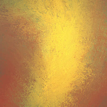 shine: Red gold background. Autumn background. Abstract painted gold background design in rough vintage textured swirl design.
