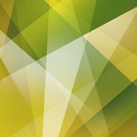 diagonal: abstract green background, triangles and angled shapes layered line design element, geometric background Stock Photo
