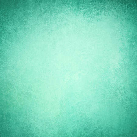 textured backgrounds: abstract blue green background with dark stained grunge borders, vintage texture, and white center
