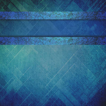 aged: abstract techno background in blue with shiny metal paint stripes with vintage texture, old faded background layout in shades of blue and variety of textures with copyspace for graphic art designers