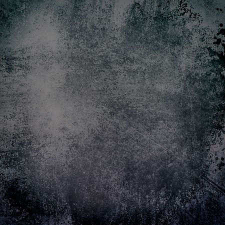 brown: elegant vintage black and gray background with spattered peeling paint texture, faded grungy chalkboard design illustration