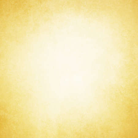 web: solid yellow and gold paper or background design with faint vintage grunge textured border and light beige or white center spot
