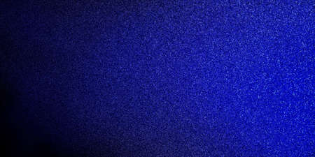 website: blue glitter texture on black background, elegant classy background design Stock Photo