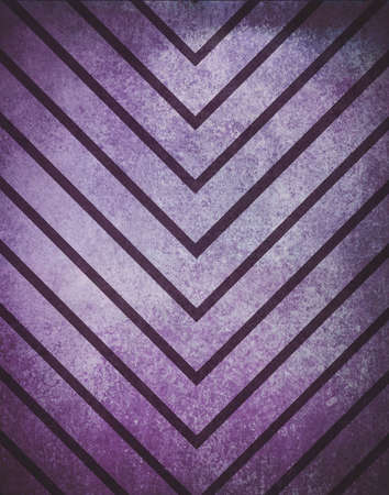aged: retro chevron striped background pattern, purple and pink colors in textured grunge thick and thin lines