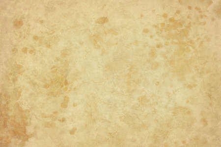 textured backgrounds: old brown paper texture Stock Photo