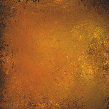 textured backgrounds: gold orange background, vintage shiny grunge textured paint Stock Photo