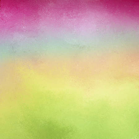 pastel background with soft light colors of blue pink green and yellow and bright deep pink top border with faint vintage texture design, pretty spring background