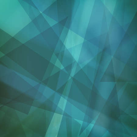 rectangle: abstract blue geometric background design