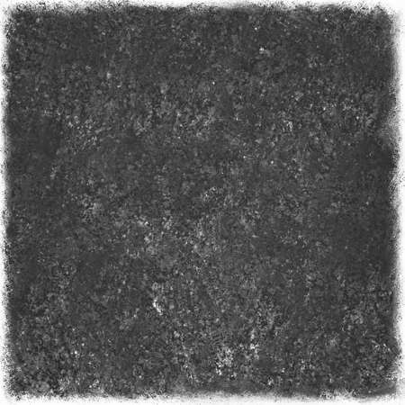grey: black background with faded worn edges, gray square isolated on white background with vintage texture