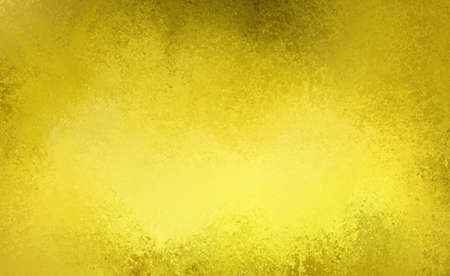 black metallic background: yellow gold background with black grunge texture Stock Photo