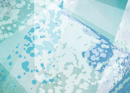 spot the difference: abstract blue and white background with layers of triangle texture and spots