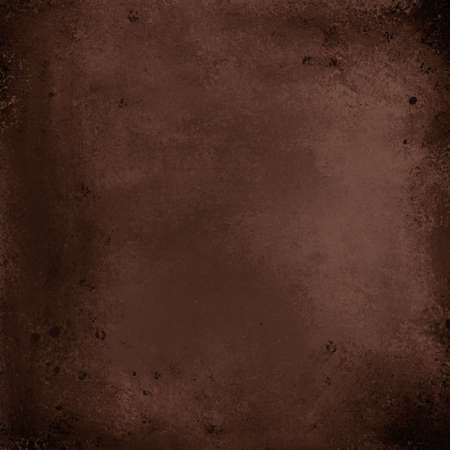 antique: elegant vintage black and brown background with spattered peeling paint texture, faded grungy dark design illustration