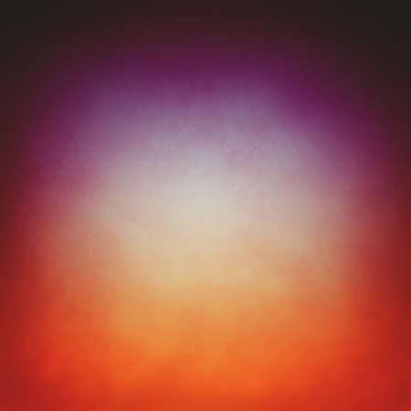 gold: orange gold background with purple gradient and black border, warm bright center and dark vintage textured border with soft gallery display lighting, elegant studio background