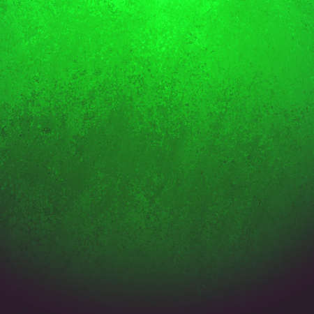 aged: black background with grunge green border texture, gradient bright green color blended into dark black color, elegant classy background with sponge wall paint texture