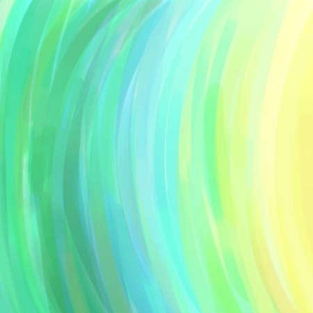 sfondo astratto in verde azzurro e striature gialle