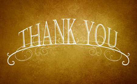 website: vintage thank you note background with elegant white letter typography