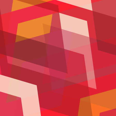 mosaic: red yellow and white abstract background with angles and shapes in random layers, abstract background design