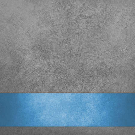book: Black background with scratched texture and blue ribbon stripe