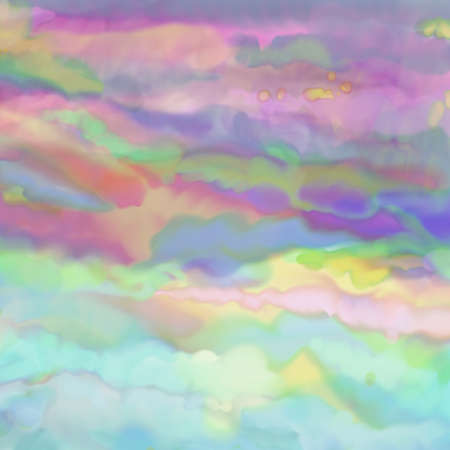 water: Watercolor background paper design in soft pastel spring colors