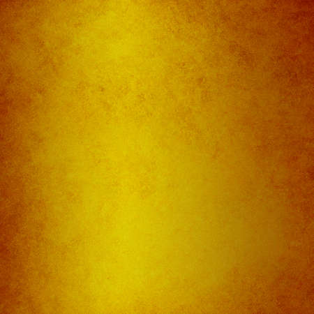 rusty background: Gold metal plate background with orange red rust border illustration Stock Photo