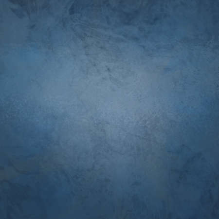Marbled textured background, glossy glass pattern of wavy texture shapes, navy blue or denim blue color