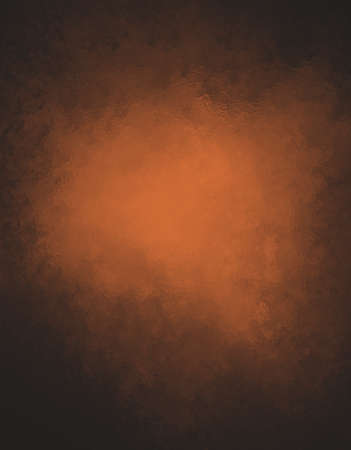 spotlight: Copper background. Orange background with black border and glass or foil texture detail.