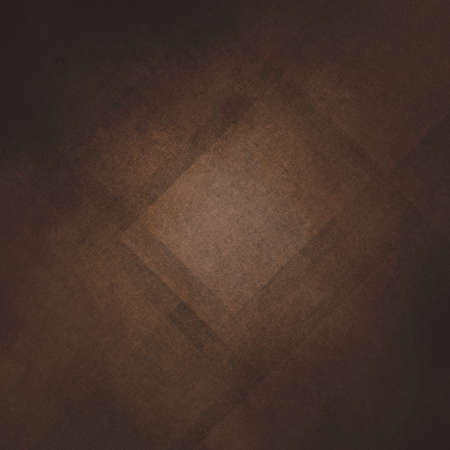 contemporary: brown abstract background, geometric angles with textured layers Stock Photo