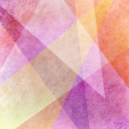 gold textured background: abstract colorful background design with grunge texture, purple pink yellow and orange colors in random layers of shapes in artsy pattern Stock Photo