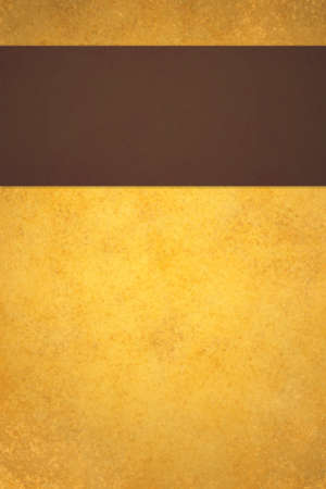 luxurious: abstract gold background with brown stripe