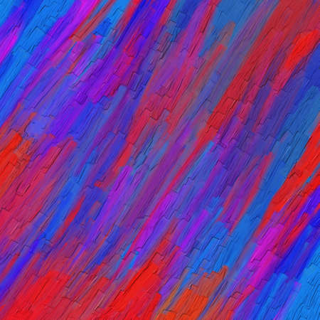 thick textured paint in wild bold colors of red purple pink and blue with brush stroke smears, artsy background design