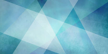 large intersecting stripes of white and blue green colors on textured abstract background design, classy elegant business layout with triangle and rectangle shapes in transparent layers