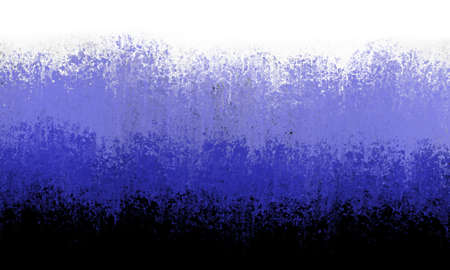 blue on black and white background in gradient colors from dark to light shades, abstract sponged smeared paint texture, stripes of grunge