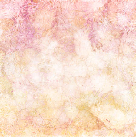 abstract pink white and gold background with textured rippled glass texture