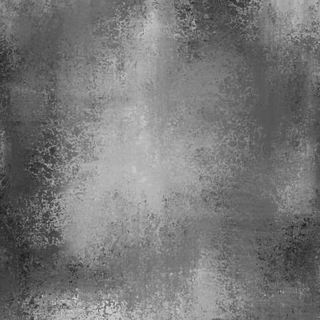 Elegant black background texture paper, faint rustic grunge border paint design with grey center Stock Photo