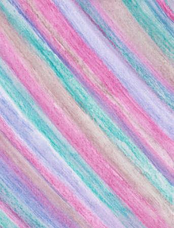手で塗った縞模様の水彩背景デザイン