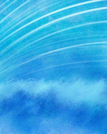 abstract water waves with curved line pattern in beachy background design