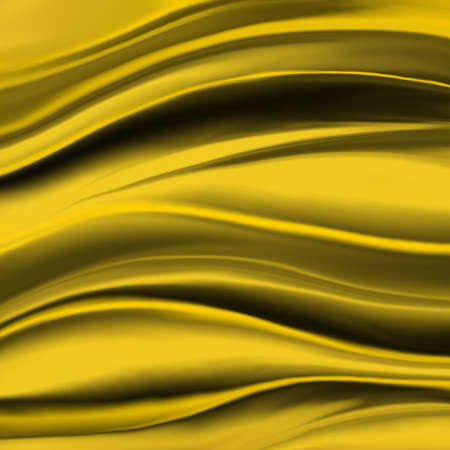 elegant luxury gold background with wavy draped folds of cloth, smooth silk texture with wrinkles and creases in flowing fabric