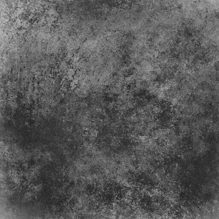 abstract black background with white sponge background designs, vintage grunge background texture distressed black and white monochrome background for printing brochure paper, charcoal gray background Stock Photo