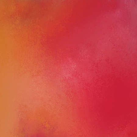 deep red orange and yellow warm sunrise colors in painted background illustration with texture and grunge