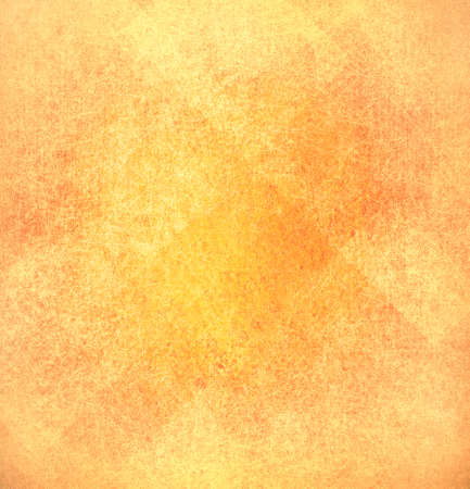 Abstract Orange Background Gold Yellow Color Vintage Grunge Texture Distressed Pattern Rustic